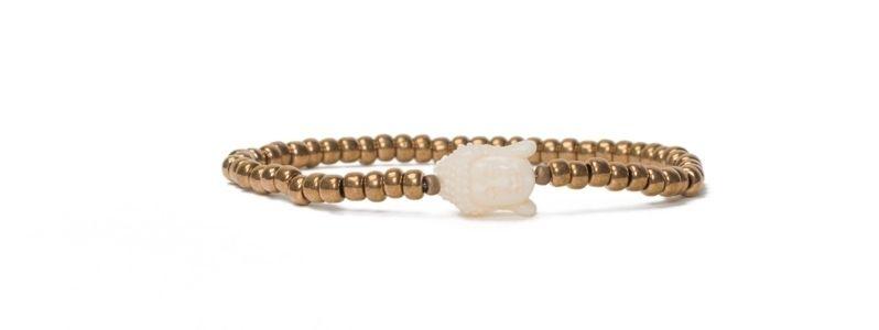 Armband Rocailles Buddha