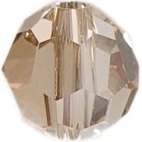 Swarovski Elements, rund, 6 mm, crystal golden shadow