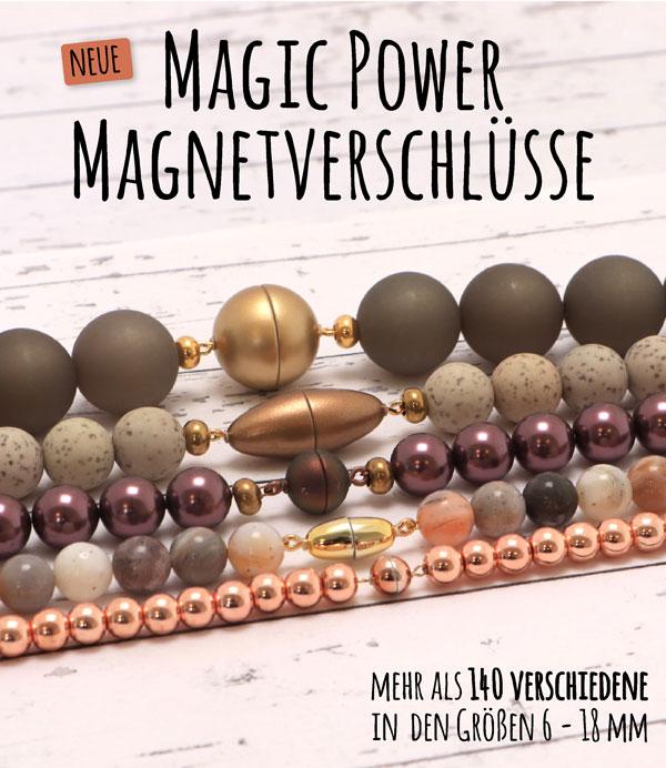 Neue Magic Power Magnetverschlüsse
