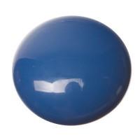 Polaris Opak Cabochon, rund, 12 mm, dunkelblau