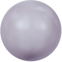 Swarovski Crystal Pearl, rund, 10 mm, mauve