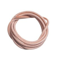 Lederband, 3 mm, Länge 1 m, natur