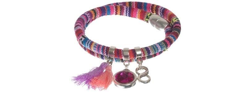 Boho-Armband Pink