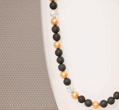 DIY Ideen für Ketten mit Polaris Perlen ansehen