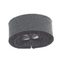 Craft Lederband Schlaufe, 16 mm x 8 mm, Steel