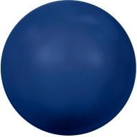 Swarovski Crystal Pearl, rund, 6 mm, dark lapis