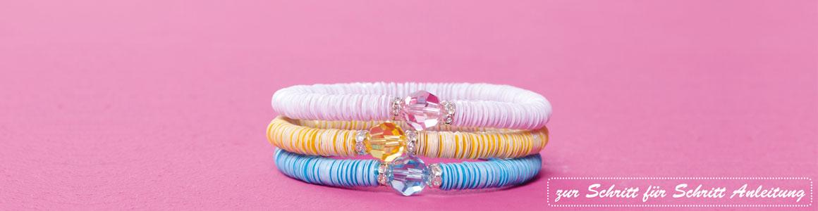 Pailletten Armbänder