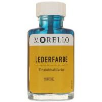 Morello Lederfarbe, Flasche mit Auftragepinsel, 40 ml,  Marine