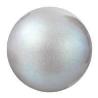 Preciosa Nacre Pearl Round Maxima, 4 mm, pearlescent grey