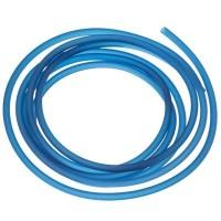 PVC-Schlauch Durchmesser 2,5 mm, petrol, Länge 1 m
