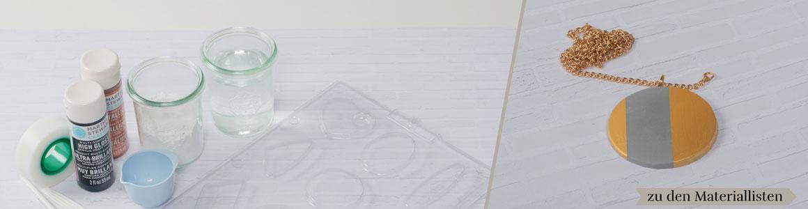 Beton Style -Material und Zubehör
