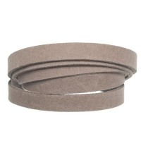 Craft Lederband, 10 mm x 2 mm, Länge 1 m, Taupe