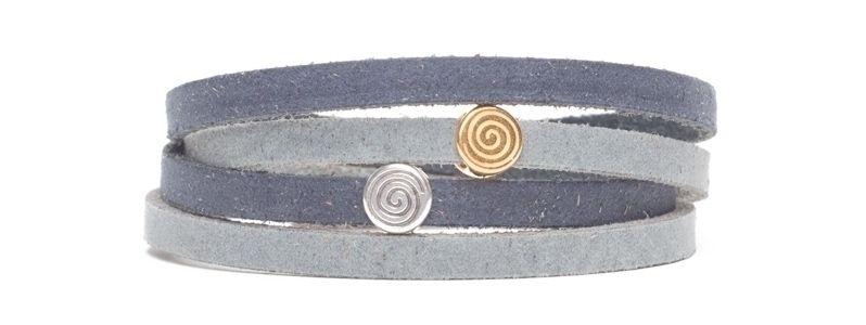Craft Lederarmband Spirale
