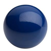 Preciosa Nacre Pearl Round Maxima, 6 mm, navy blue