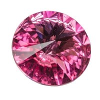 Swarovski Rivoli (1122), 12 mm, rose