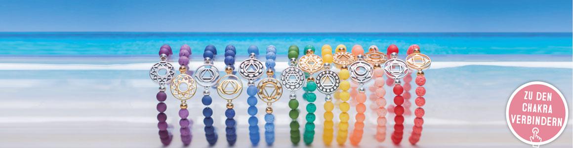 Chakra-Armbänder