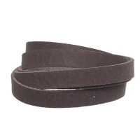 Craft Lederband, 10 mm x 2 mm, Länge 1 m, Coffee
