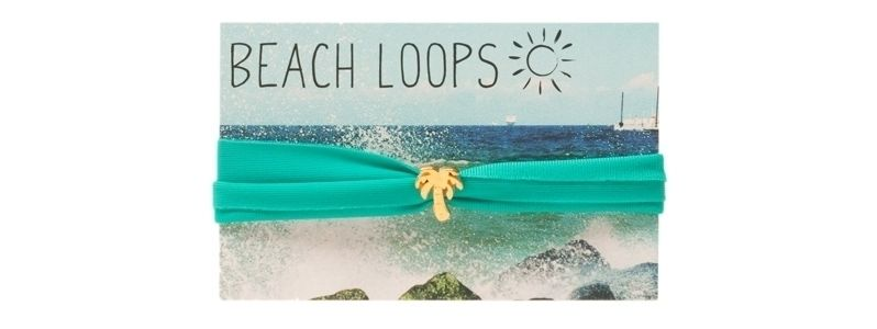 Beach Loop Palme Emerald