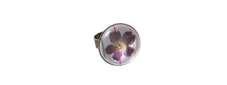 Blütenschmuckring Blume 2
