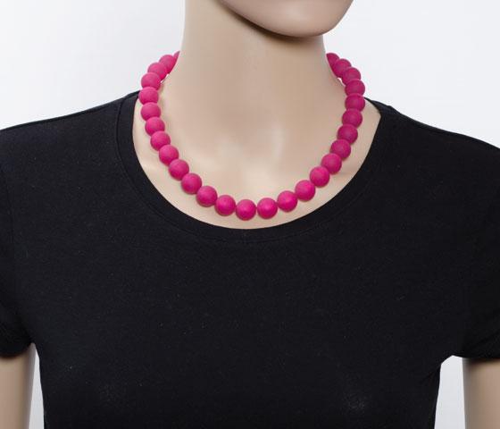 Eine Kettenlänge - verschiedene Perlengrößen (14mm)