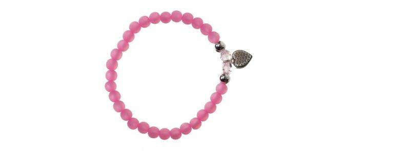 Polaris-Armband Rose Herz