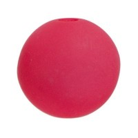 Polarisperle, rund, ca. 8 mm, Neon rosa