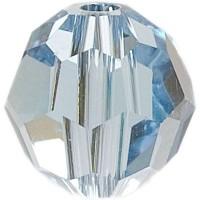 Swarovski Elements, rund, 6 mm, aquamarine