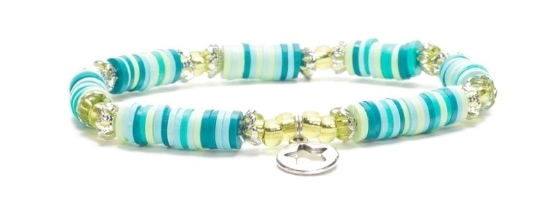 Armband mit Katsuki Perlen Stern