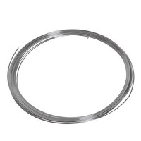 Craft Wire, Durchmesser 0,8 mm, 6 m, versilbert