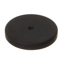 Polaris Perlenglück-Scheibe rund, 16 mm, schwarz