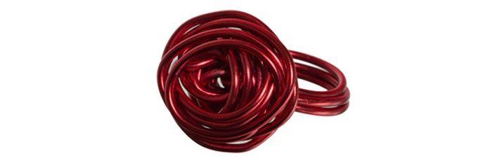 Knäul-Ring Rot