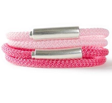 Schmuckanleitung für einfache und doppelte Armbänder aus Segelseil
