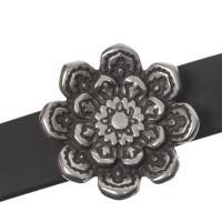 Screws Oberteil, Lotusblüte, 20 x 20 mm, versilbert