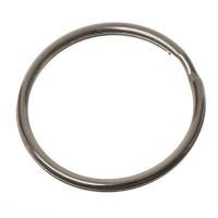 Schlüsselring, Durchmesser 25 mm, silberfarb.
