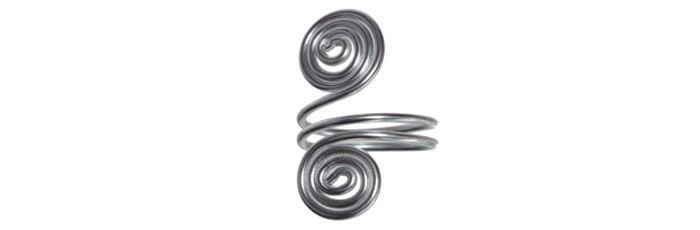 Schnecken-Ring Silber