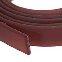 Flaches PVC-Band 10 x 2 mm, weinrot, 1 m