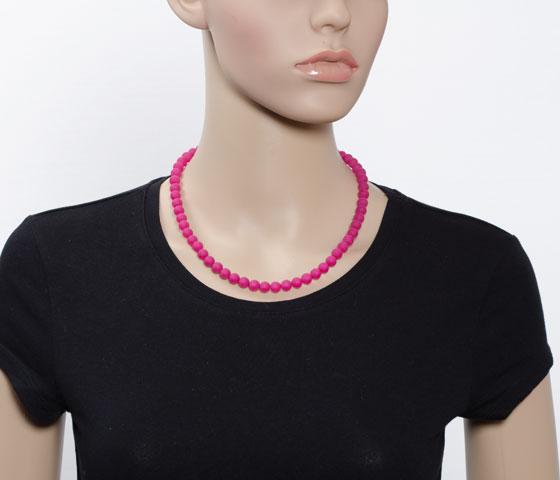 Eine Kettenlänge - verschiedene Perlengrößen (10mm)