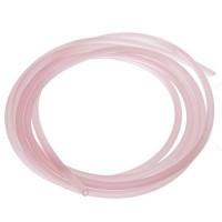 PVC-Schlauch Durchmesser 2,5 mm, rosa transparent, Länge 1 m