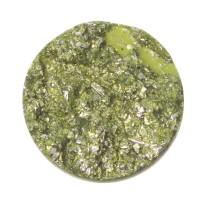 Polaris Goldstein Cabochon, rund, 12 mm, hellgrün