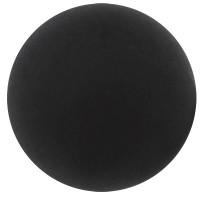 Polarisperle, rund, ca. 12 mm, schwarz