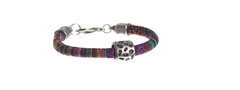 Ethno-Armband Purple