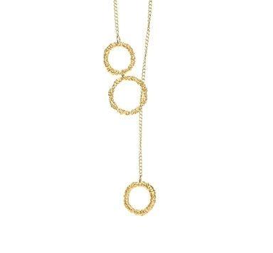 Feine goldene Halsketten