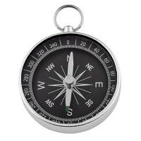 Edelstahl Kompass, rund, 44 x 9mm