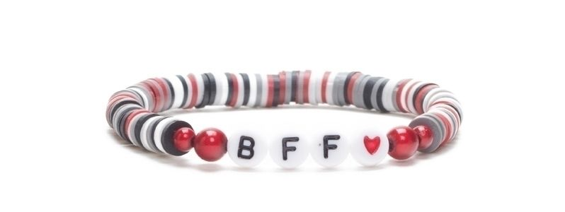 Armband mit Katsuki Perlen BFF