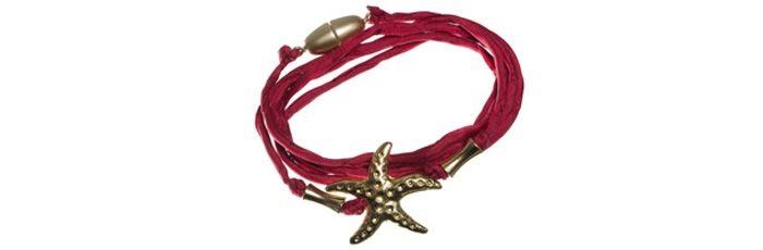 Wickelarmband Starfish