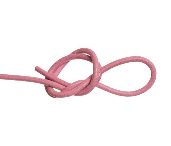 Wickelarmband mit rundem Lederband selber machen Schritt 3