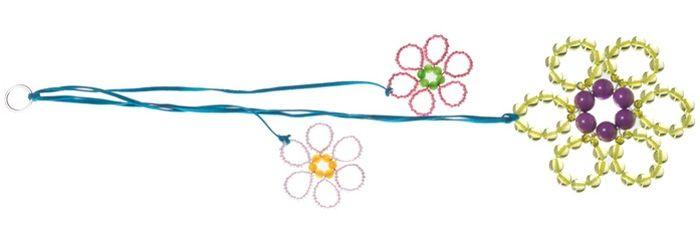 Fensterdeko Blume Hellgrün