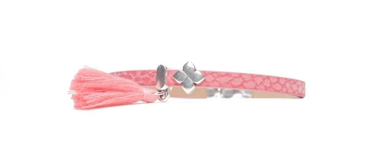 Tropical Mini-Sliderarmband Blume