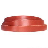 Lederband, 10 x 2 mm, Länge 1 m, mittelbraun