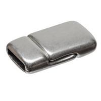 Magnetverschluss, 21,5 mm x 13,5 mm, zum Einkleben, versilbert